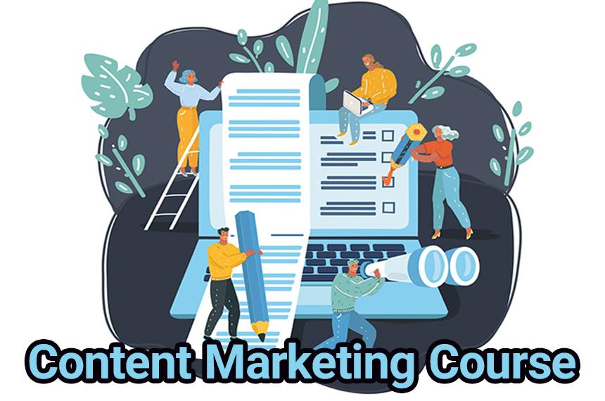 آموزش بازاریابی محتوا و تولید محتوای حرفه ای