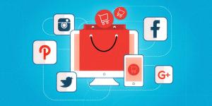 تصویرلوگو های شبکه اجتماعی و آموزش طراحی و ساخت فروشگاه آنلاین با وردپرس