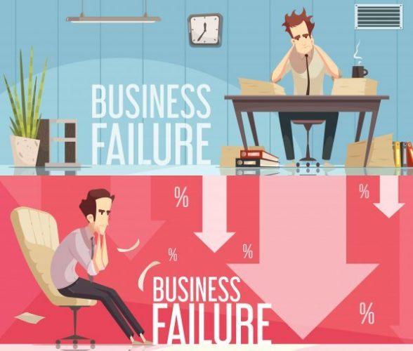 شکست در کسب و کار اینترنتی