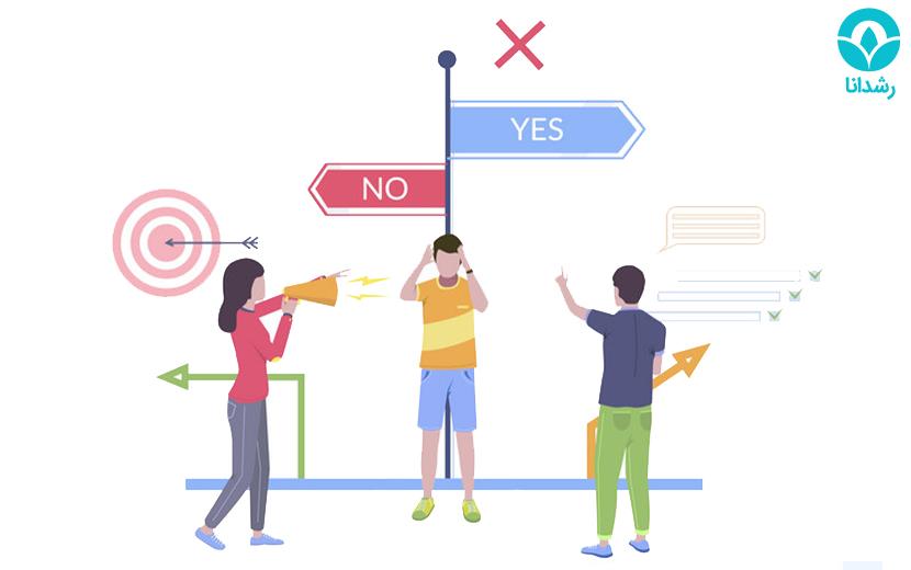 تصمیم گیری چیست | رشدانا